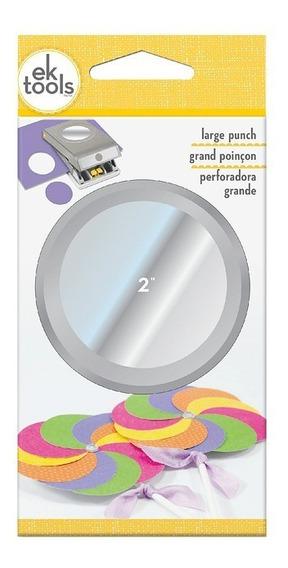 Perforadora Papel Ek Circulo 2 Scrapbook Manualidades