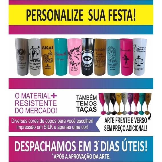 Kit Novo 160 Copos Long Drink 330ml + 50 Canecas