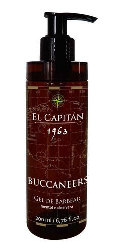 Gel De Barbear Buccaneers 200ml El Capitán