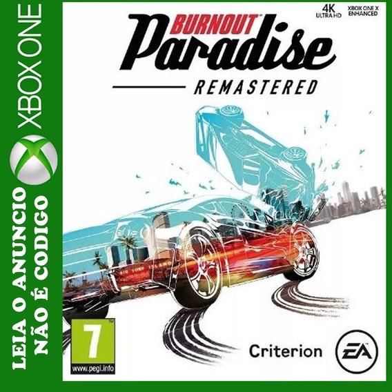 Burnout Paradise Remastered Midia Digital Xbox One