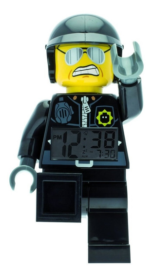 Reloj Lego Movie Bad Cop Outlet - Lego & Bulbbotz Oficial