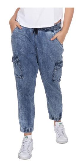 Joggers Damas Pantalón De Mezclilla Slim Fit. Estilo 1317