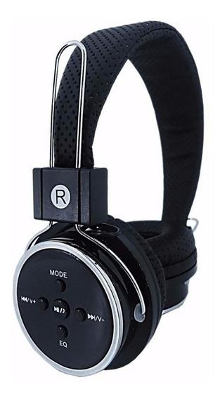 Fone De Ouvido Bluetooth Sem Fio Mp3 Radio Fm Para Corrida