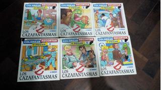 De Coleccion Los Cazafantasmas Rev. De Colorear Y Recortar