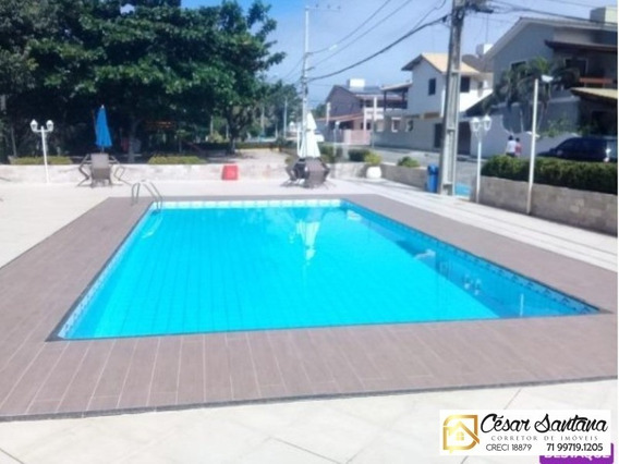 Casa 4/4 Em Condomínio Fechado - Praia Do Flamengo - Salvador - Ca00511 - 34231387