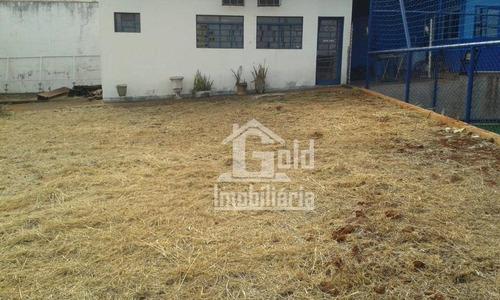 Área Para Alugar, 475 M² Por R$ 4.500,00/mês - Jardim Palma Travassos - Ribeirão Preto/sp - Ar0005