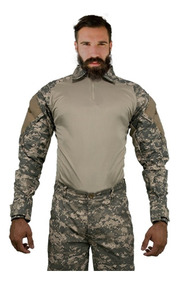 Camisa Combat Masculina Tatica Militar Resistente Airsoft
