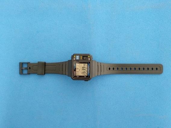 Relógio Casio Jp-100w Igual Novo S/ Som Muito Raro Japan