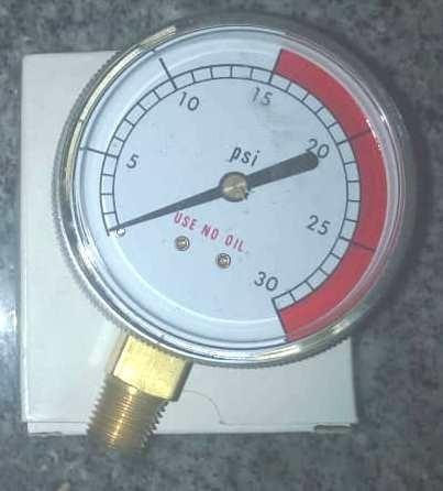 Reloj Manómetro 0-30 Psi