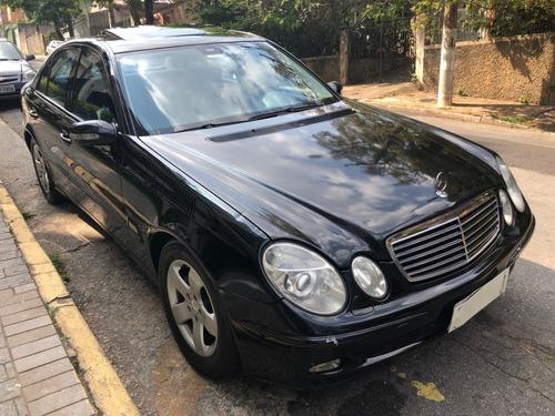Mercedes E 320 2003 Blindada Baixa Km