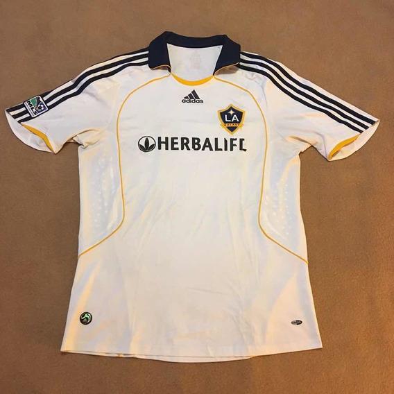 Camisa Los Angeles Galaxy Home 2008/09 - Beckham - adidas