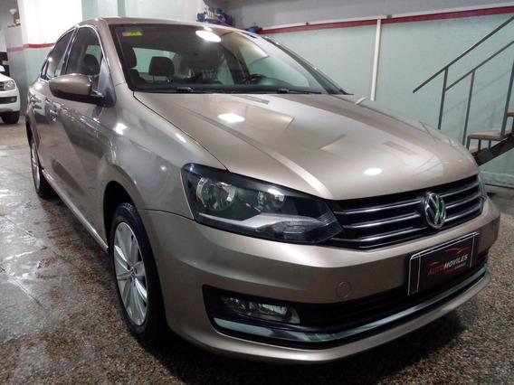 Volkswagen Polo 1.6 Msi Comfortline At 2017 Anti Y 24 Cuotas
