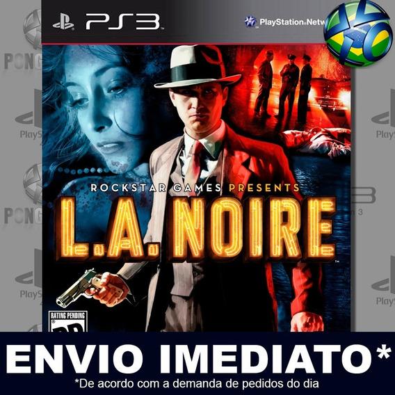 L.a. Noire Ps3 Psn Jogo Em Promoção A Pronta Entrega Play 3
