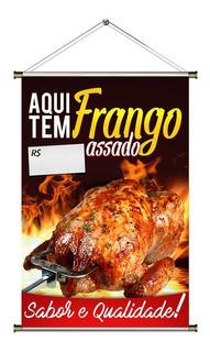 Banner De Frango Assado Especial 60x90cm