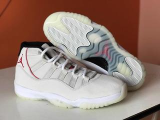Nike Jordan 11 Retro platinum Tint Número 11us