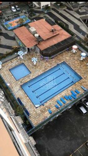 Apartamento Com 2 Dormitórios À Venda, 67 M² Por R$ 350.000,00 - Centro - Niterói/rj - Ap3184