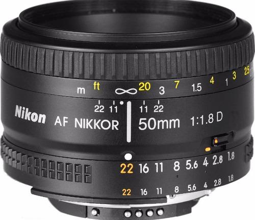 Nikon Af 50mm 1.8 D