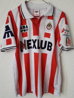 Jersey Chivas 1997 Guadalajara Aba Sport 1997 Mexlub Pemex