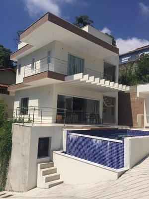 Casa Em Pendotiba, Niterói/rj De 237m² 4 Quartos À Venda Por R$ 1.400.000,00 - Ca198832