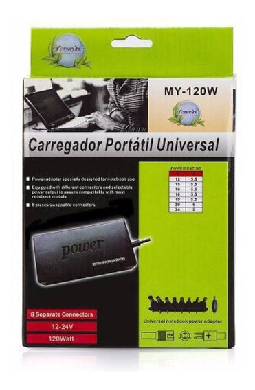 Carregador Universal Notebook Power My-120w