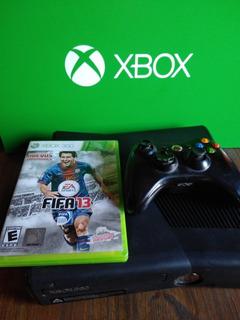 Xbox 360 Slim Sin Disco Rigido + Fifa + Joystick