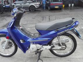 Vendo Akt 110 Azul Modelo 2.008 Como Nueva
