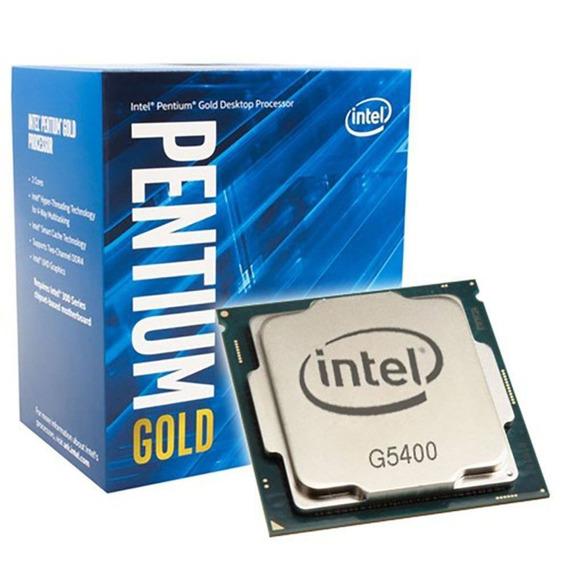 Processador Intel 1151 Pentiun G5400 3.7ghz