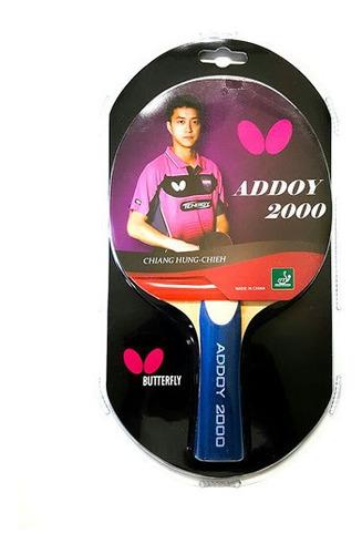 Raqueta Butterfly Addoy 1000 Para Tenis De Mesa, Ping Pong