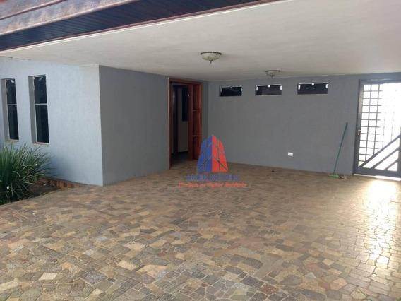 Casa Com 4 Dormitórios Para Alugar, 161 M² Por R$ 2.500/mês - Jardim Colina - Americana/sp - Ca1175