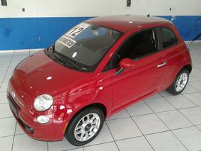 Fiat 500 1.4 Cult Flex Dualogic 2012 Completo