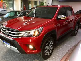 Toyota Hilux 2.8 Cd Srx 177cv 4x4 At Camionetas Usadas 2017