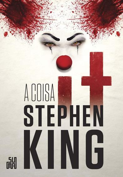 It A Coisa - Stephen King - Livro Seminovo Em Ótimo Estado!!