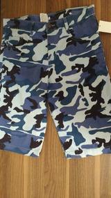 Paquete Short Bermuda Camuflaje 3 Colores