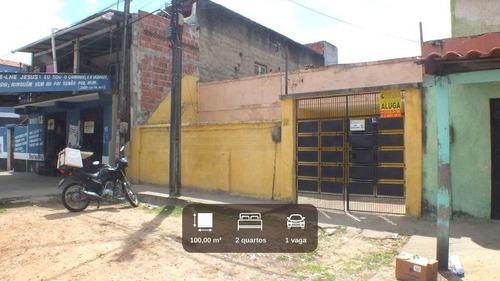 Imagem 1 de 12 de Ca736 - Aluga Casa No Monte Castelo, 2 Quartos (1 Suíte), 1 Vaga Próx. Ao Shopping Rio Mar Kennedy - Ca0108