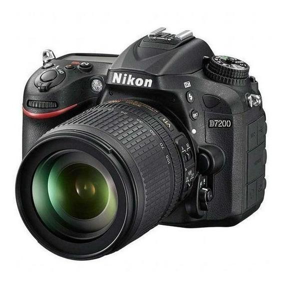 Câmera Digital Nikon D7200 24.1mp 3.2