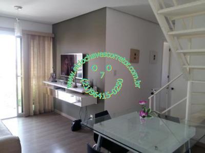 Cobertura Duplex Sala 3 Quartos(2 Suítes) 2 Vagas - Pcb4117