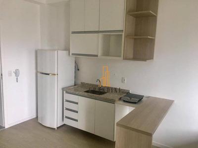 Flat Com 1 Dormitório Para Alugar, 37 M² Por R$ 1.500/mês - Jardim Do Mar - São Bernardo Do Campo/sp - Fl0005