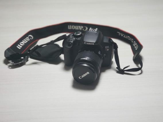 Câmera Canon T4i + 18-55 + 55-250mm + Bolsa + Tripé