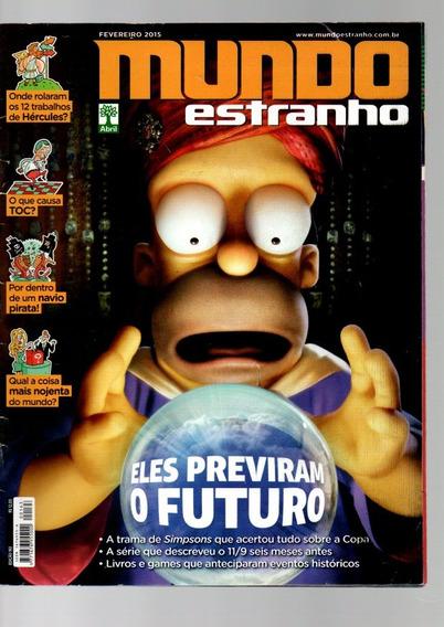 Mundo Estranho Simpsons Eles Previram O Futuro - Fev 2015