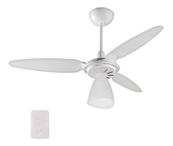 Ventilador De Teto 3 Pás Branco Wind Light Ventisol 110v
