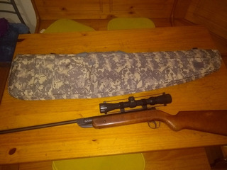 Rifle Alemán Antiguo Gecado Mod.25d Con Mira Bsa Y Funda