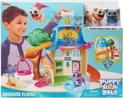 Imagen 1 de 4 de Just Play Dog Puppy Pals Jeugo De Casa, Multicolor