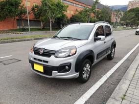 Fiat Uno Way Motor 1400 Gris 5 Puertas 9200 Km