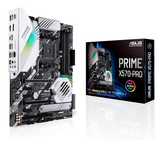 Motherboard Asus Prime X570-pro Ryzen 3 Gen Am4 Pcie Logg