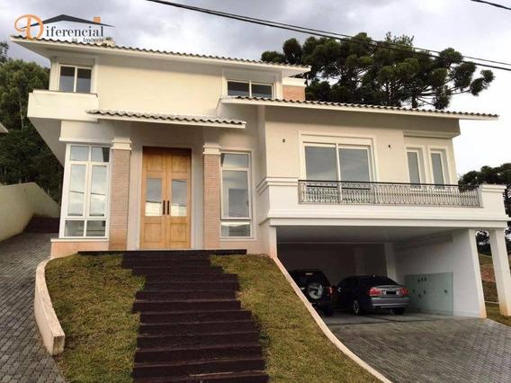 Casa Residencial À Venda, Santa Felicidade, Curitiba. - Ca0032