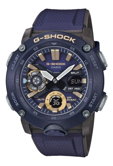 Relogio Casio G-shock Ga-2000-2adr + Garantia + Nota Fiscal