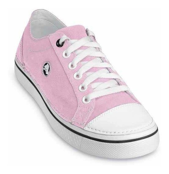 Tenis Crocs De Outlet Color Rosa Para Niña T 22