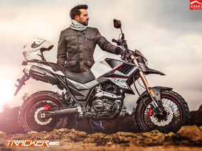 Moto Axxo Tracker 6c Año 2017 250cc Con Maletas