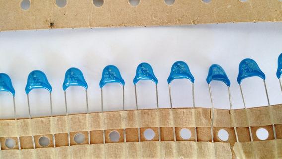 Capacitor Ceramico Disco 1nf X 250vac 10 Peças