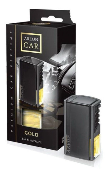 Aromatizante Car Painel Black Box Gold Areon